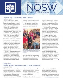 NOSW Winter 2020 Newsletter 1